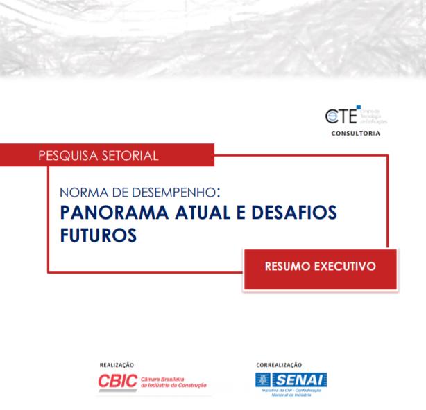 Pesquisa setorial CBIC - Norma de Desempenho